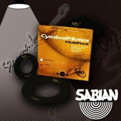 """Sabian CM2P - Sourdine Quiet Tone 2-Pack pour cymbale hi-hat et patch divers 4"""""""