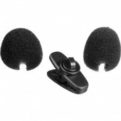Shure RK322 - 2 bonnettes anti-vent noires et 1 pince cable pour PG30
