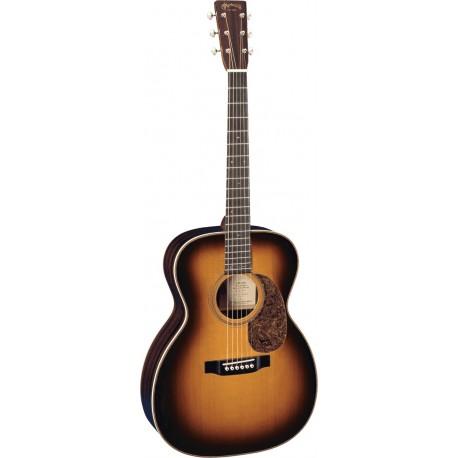 Martin 000-28EC-SUB - Guitare 000 Palissandre massif Sunburst Signature Eric Clapton avec étui