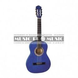 Miguel Almeria PS500055 - Guitare classique 4/4 bleu