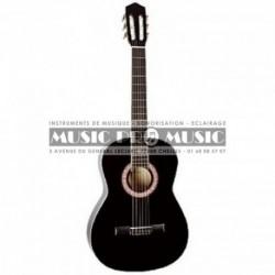 Miguel Almeria PS500056 - Guitare classique 4/4 noir