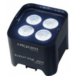 Algam Lightning EVENTPAR-MINI - Par à Leds 4x10w RGBW sur batterie et mode sans fil