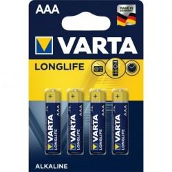 Varta LR03 - Pile 1.5V AAA par 4 sous blister