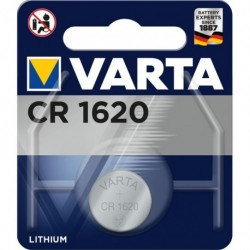 Varta CR1620 - Pile 3v à l'unité sous blister