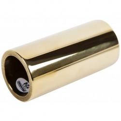 Dunlop 224 - Bottleneck Métal - Medium heavy, laiton 22x29x60mm