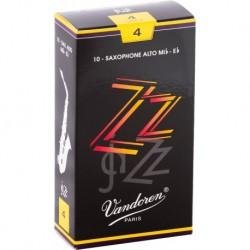Vandoren SR414 - Boite de 10 anches ZZ force 4 pour saxophone alto Mib