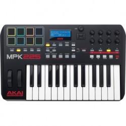 Akai professional USB MIDI 25 notes 8 pads