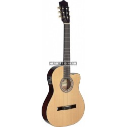 Stagg C546TCE-N - Guitare électro classisque 4/4 nat