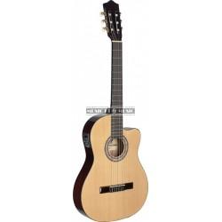 Stagg C546TCE-N - Guitare électro classisque 4/4 nat