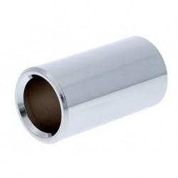 Dunlop 228 Bottleneck Métal - Medium, laiton chromé 19x27x51mm