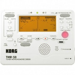 Korg TMR-50-PW - Accordeur Metronome Enregistreur blanc