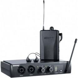 Shure EP2TR112GR-K9 - Ear Monitor Système complet UHF avec Intras SE112 Bande K9E