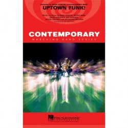 Uptown Funk! - Arrangement pour Marching Band