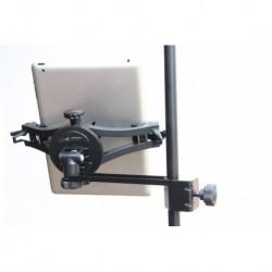 AirTurn MANOSSMC - Support pour tablette et téléphone avec bras de fixation sur tube