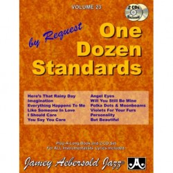 One Dozen Standards Aebersold Jazz Play-Along Vol.23