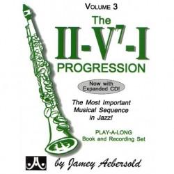 Jazz Play-Along Aebersold Vol. 3 The II/V7/I Progression