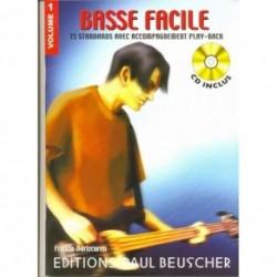 Francis Darizcuren - Basse facile Vol.1