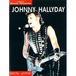 Johnny Hallyday: Collection Grands Interprètes pour Piano, Chant et Guitare