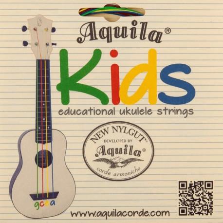 Aquila 160U - cordes colorées ukulele enfant
