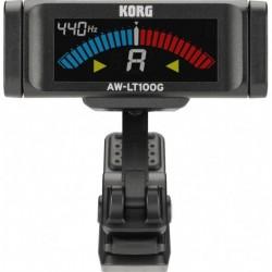 Korg AW-LT100G - Accordeur à pince chromatique pour guitare
