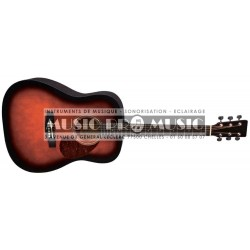 VGF PS501302 - Guitare folk sunburst