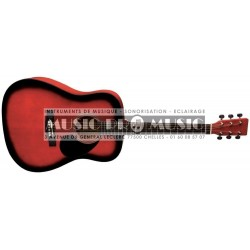 VGS PS501304 - Guitare folk Red Burst