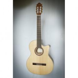 Kremona KRER65CW - Guitare électro classique 4/4 épicéa massif