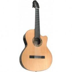 Kremona F65CW-7S - Guitare classique 4/4 ebene 7 cordes