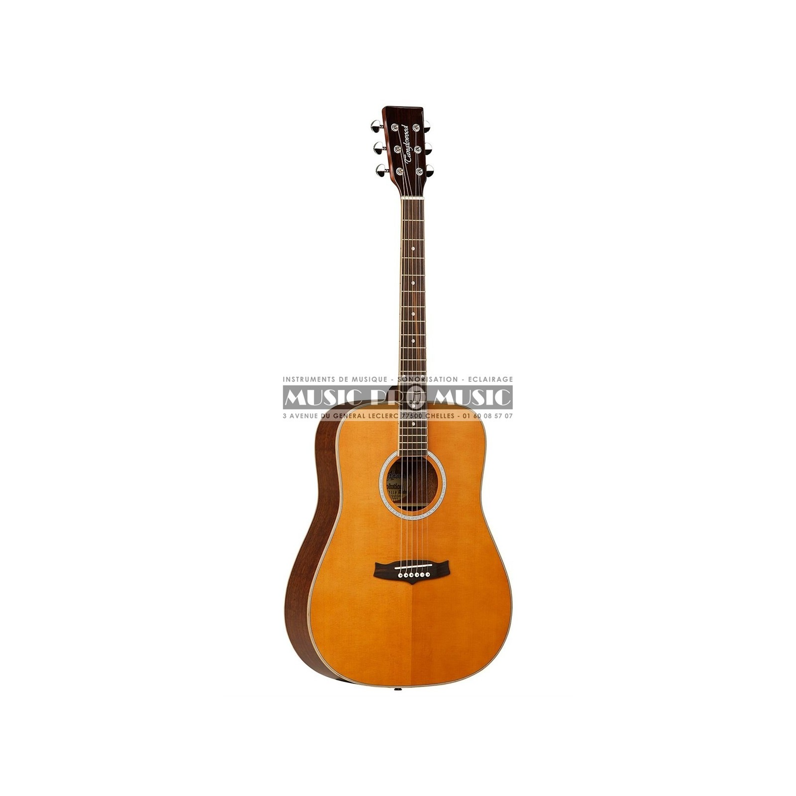Tanglewood tw28 cln guitare folk for The tanglewood