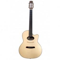 Kremona LULO REINHARDT DAIMEN - Guitare electro classique 4/4 serie Signature Lulo Reinhardt Daimen