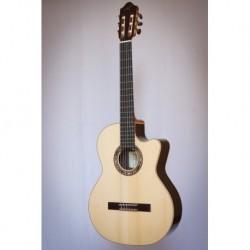 Kremona F65CW-SB 48 - Guitare electro classique 4/4 serie Performer table épicéa massif européen largeur sillet 48