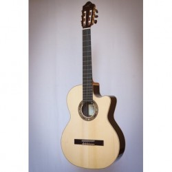 Kremona F65CW-SB ++ - Guitare electro classique 4/4 serie Performer table épicéa massif européen truss rod