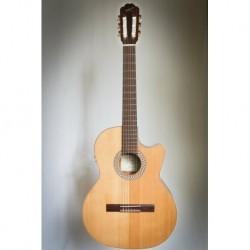 Kremona S63CW 48 RAD - Guitare electro classique 7/8 serie Performer table cèdre rouge massif largeur sillet 48 et truss rod