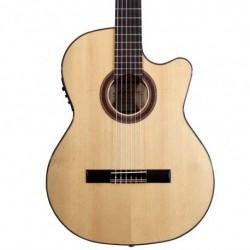 Kremona ROSA LUNA TL PRESYS - Guitare electro classique 4/4 Thin Line serie Flamenca table épicéa massif européen