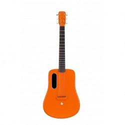 Lava 2 Me OR FREEBOOST - Guitare electro-acoustique Orange Freeboost fibre de carbone