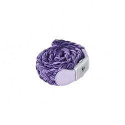 Lava Music LA-0054 - Courroie de ukulele cuir synthétique violet IDEAL STRAP U