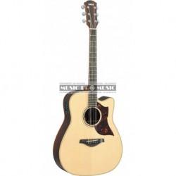 Yamaha GA3RWC - Guitare électro-acoustique SRT naturel épicéa
