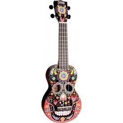 MAHALO - GMH MA1SKBK Art - Soprano Crâne Mexicain