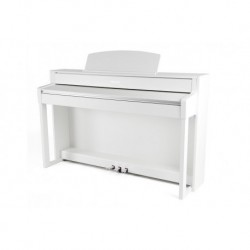 Gewa UP385 - Piano numérique meuble blanc mat