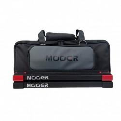 Mooer PB05 - Pedalboard noir avec housse rembourrée et bandes Velcro