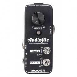 Mooer AUDIOFILE - Pédale ampli casque analogique qualité hi-fi