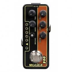 Mooer DAYTRIPPER - Pédale préampli numérique type 60's UK combo 30W pour guitare électrique