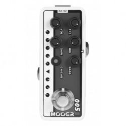 Mooer BROWNSOUND3 - Pédale préampli numérique type ampli signature VH V3 pour guitare électrique