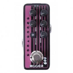 Mooer BLACKNIGHT - Pédale préampli numérique type Heavy metal pour guitare électrique