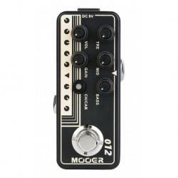 Mooer USGOLD100 - Pédale préampli numérique type Classic British Plexi pour guitare électrique