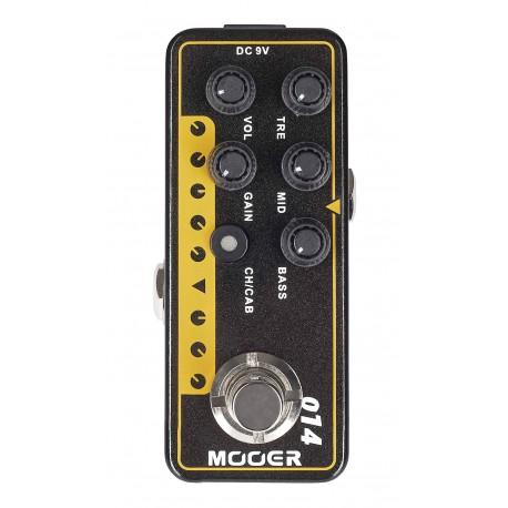 Mooer TAXIDEATAXUS - Pédale préampli numérique type US combo pour guitare électrique