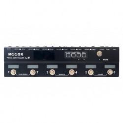 Mooer CONTROLLERL6 - Pédalier de contrôle programmable 6 switchs avec 2 buffers et accordeur