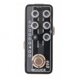 Mooer POWERZONE - Préampli numérique 2 canaux type Métal