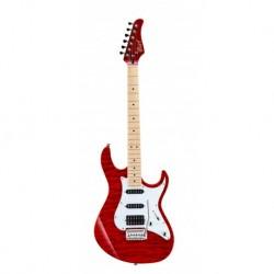 Cort GX250DXTR- Guitare éléctrique rouge