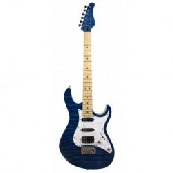Cort Guitare électrique bleue DX-250